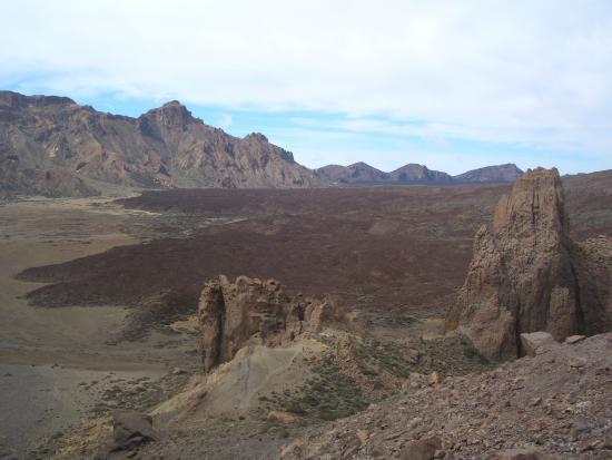 Volcan El Teide: La caldera