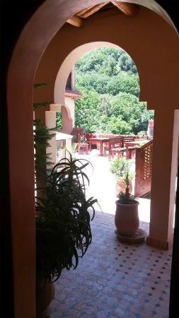 Dar Imlil: Upper terrace.