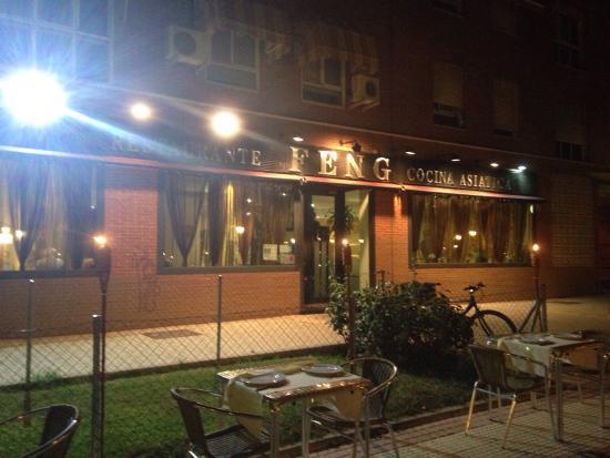 Terraza nocturna del restaurante feng fotograf a de feng for Terrazas nocturnas madrid
