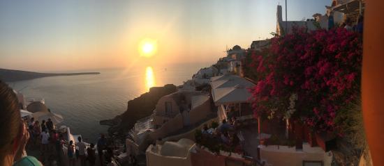 Bilde fra Sunset in Oia