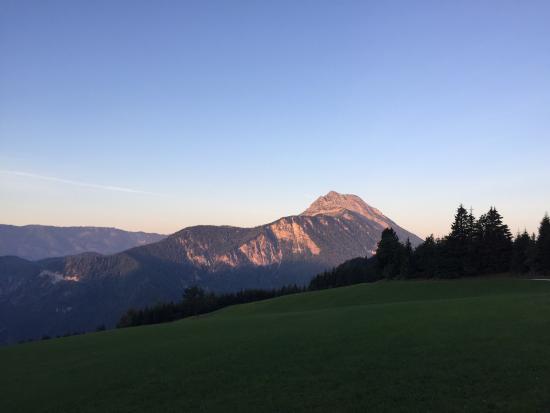Puchenstuben, Østrig: Blick auf den Ötscher