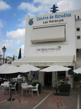 Fresh Food Cafe - Near Marbella (26/Aug/15).