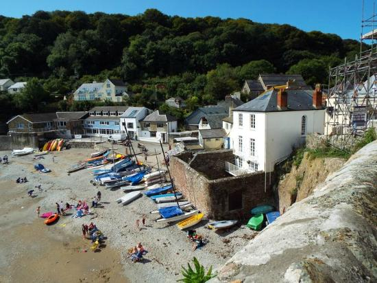 Kingsand, UK: A view from above