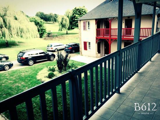Le Tronchet, Frankrig: L'accès aux chambres extérieures