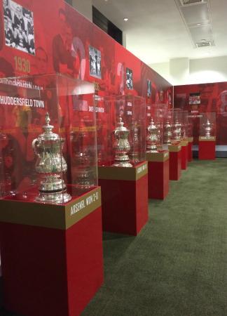 Arsenal Stadium Tours Museum London