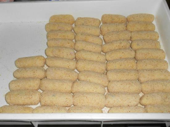 Montecorice, إيطاليا: Ecco la nostra specialità crocchè di patate fatti in casa