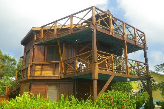 Colibri house, Placencia