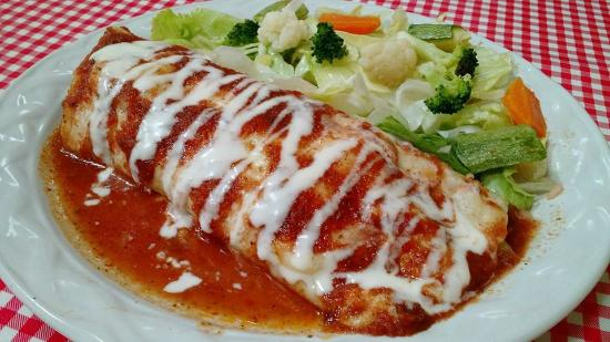 Crepa de pollo picture of la fonda comida casera for Ideas para comidas caseras