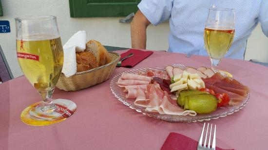 Restaurant Zeughaus : Zvieriplättli