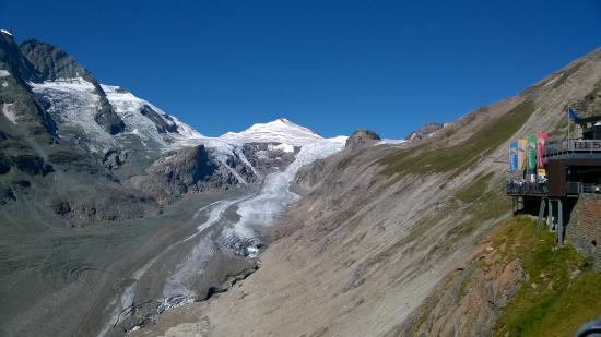 Grossglockner-Hochalpenstrasse: ghiacciaio