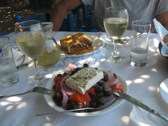 Faros Hotel: piattini della taverna!