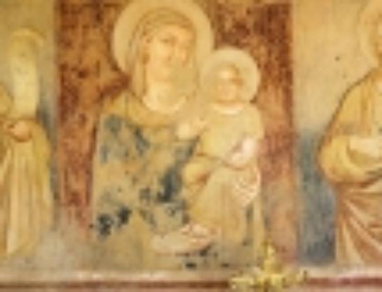 Castiglione della Valle, Italia: chapel saint ubaldo