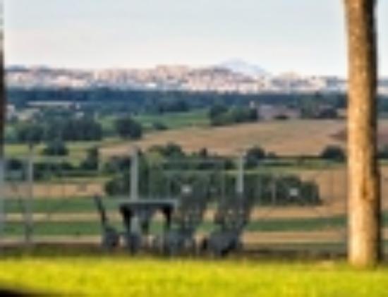 Castiglione della Valle, Italia: panoramic view to perugia