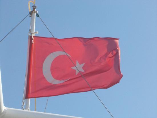 Bardakci Cove: bandiera turca