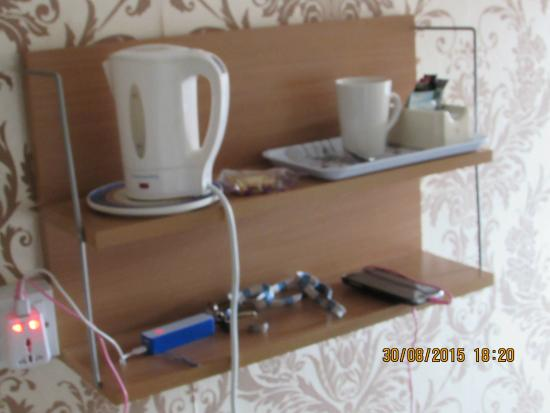 Abbey Lodge Blackpool: brewing equipment