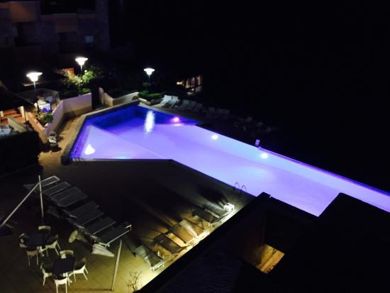 Grand Hotel San Pietro: Esterno notte