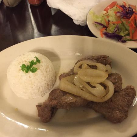 El Rincon Del Sabor: It was delicious. We had a very pleasant time at this restaurant.