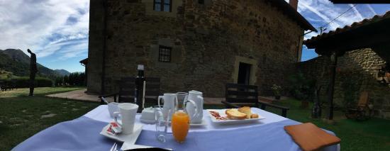 Hotel Palacio La Cajiga: Fantastic Breakfast at the Cajiga