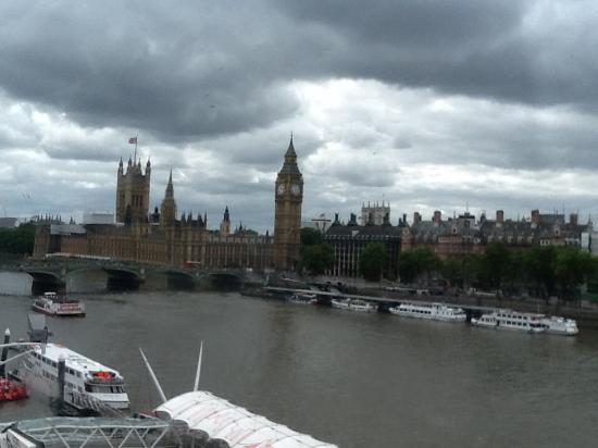 The London Eye: The view