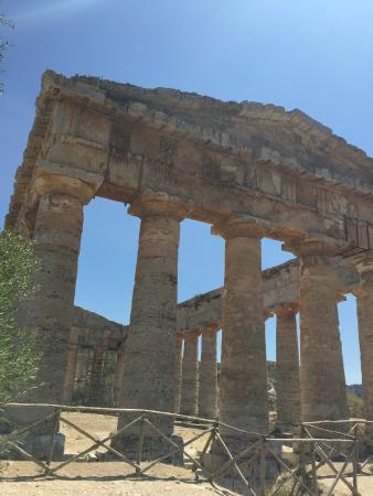 Tempio di Segesta: Imponenente