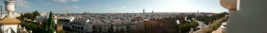 Hotel Sevilla Macarena: Vistas desde la azotea