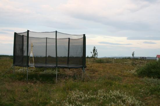 Arborg, Iceland: The Trampoline