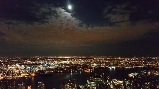 View from the 86th Floor Observatory at the Empire State Building, NYC