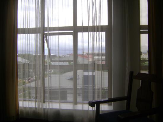 Apartotel Tairona: Una vista a las montañas.