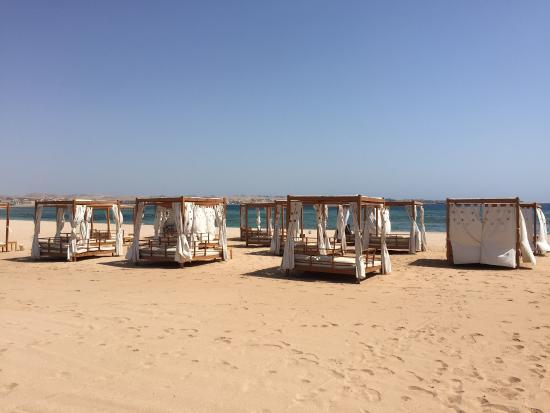 Baron Palace Sahl Hasheesh: Quite beaches