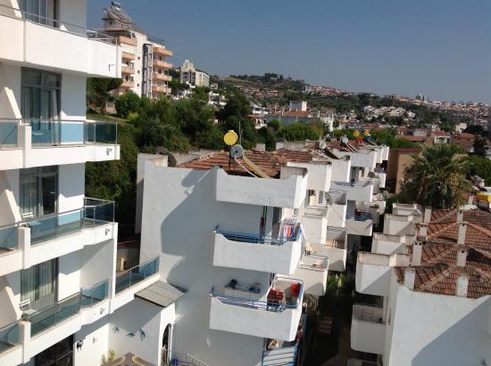 Ponz Boutique Hotel: Good views