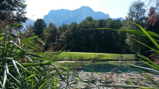 Mondsee, Austria: Drachenwand