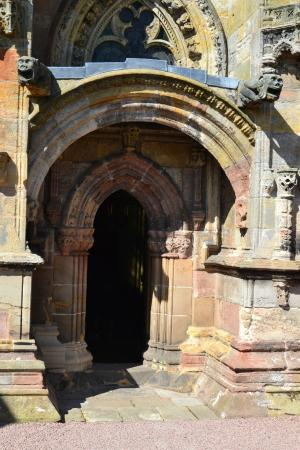 Rosslyn Chapel: Rosslin Chapel - portale
