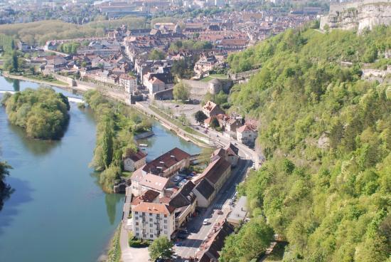 La Citadelle de Besançon: Besancon depuis la citadelle