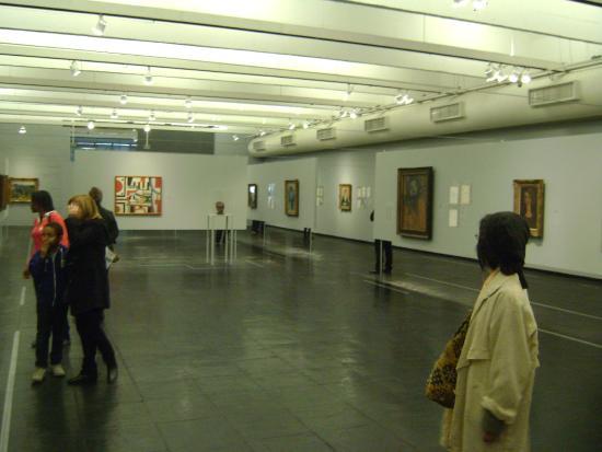 Museu de Arte de Sao Paulo Assis Chateaubriand: Saguão principal