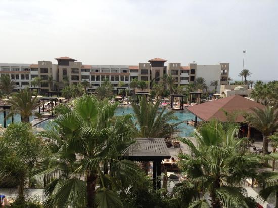 Hotel Riu Palace Tikida Agadir: Our room view