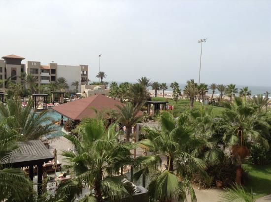 Hotel Riu Palace Tikida Agadir: Sea just outside the hotel ground