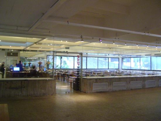 Museu de Arte de Sao Paulo Assis Chateaubriand: Restaurante