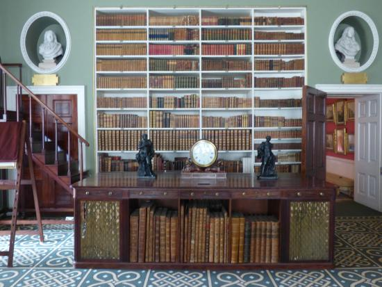 Stourhead House and Garden: Stourhead house library