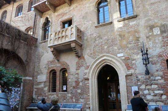 Casa di Giulietta: El balcón de Julieta