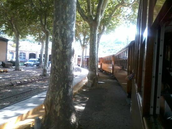 Ferrocarril de Soller: treno