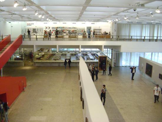 Museu de Arte de Sao Paulo Assis Chateaubriand: Vista geral