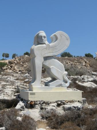 Ayia Napa Sculpture Park: Fine detailed sculpture