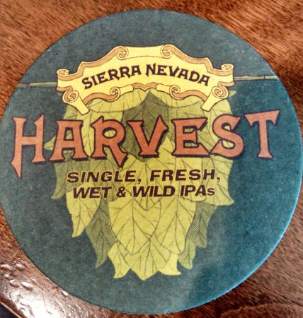 Sierra Nevada Brewing Co. Taproom: HARVEST