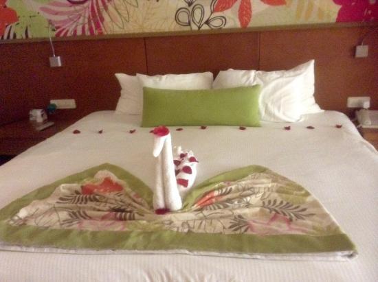 Secrets Royal Beach Punta Cana: Beautiful room decoration