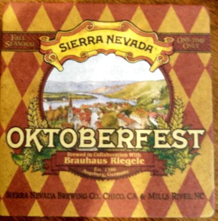 Sierra Nevada Brewing Co. Taproom: OKTOBERFEST