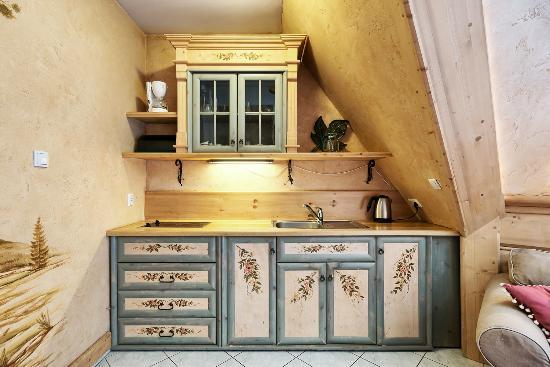 Koscielisko, Pologne : Apartament Limba - kuchnia