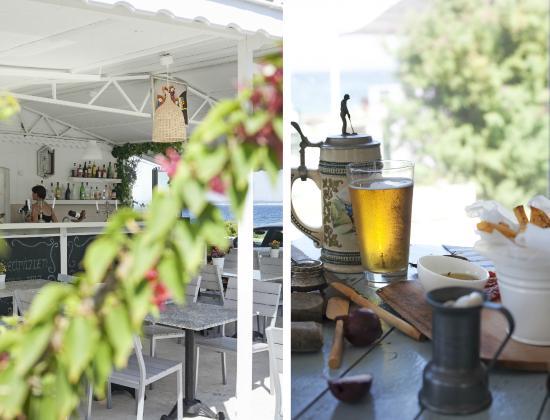 Insulares Restaurant: Güzel manzara