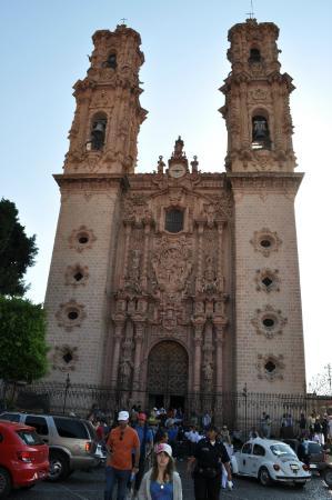 Santa Prisca de Taxco: Фасад церкви