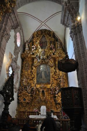 Santa Prisca de Taxco: Интерьеры церкви