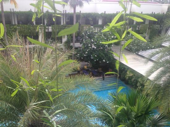Burasari Resort: Вид сверху из номера нашего.